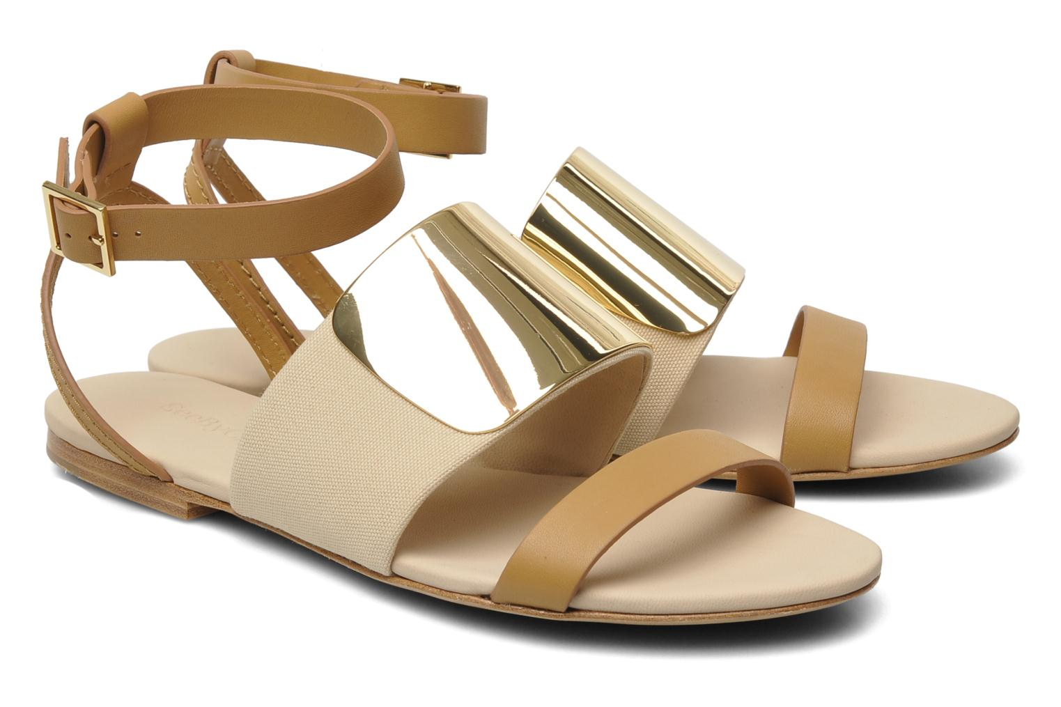 Sandals See by Chloé June Beige 3/4 view