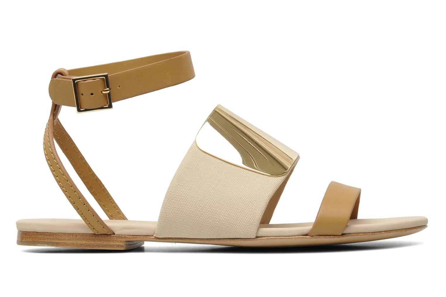 Sandals See by Chloé June Beige back view