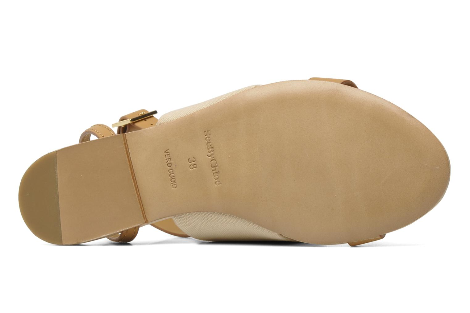 Sandals See by Chloé June Beige view from above