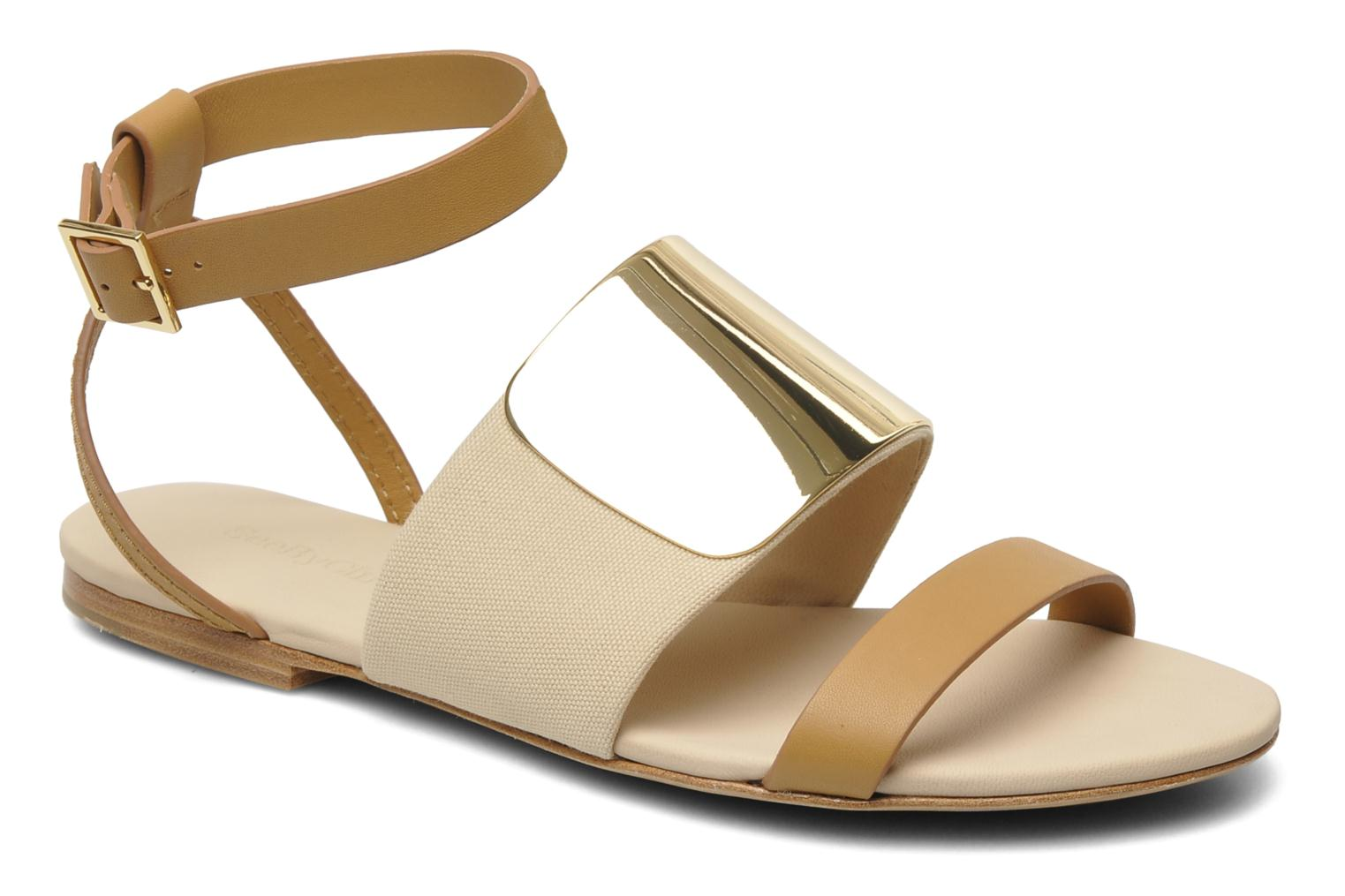 Sandals See by Chloé June Beige detailed view/ Pair view