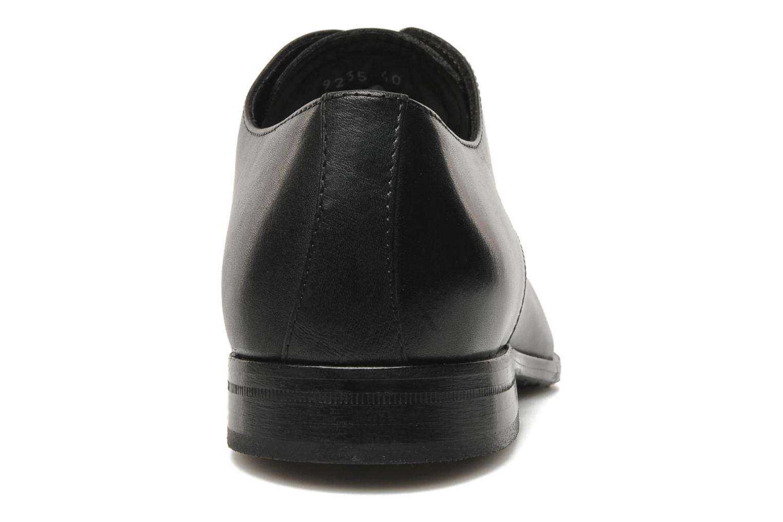Zapatos con cordones Marvin&Co Nicovée Negro vista lateral derecha
