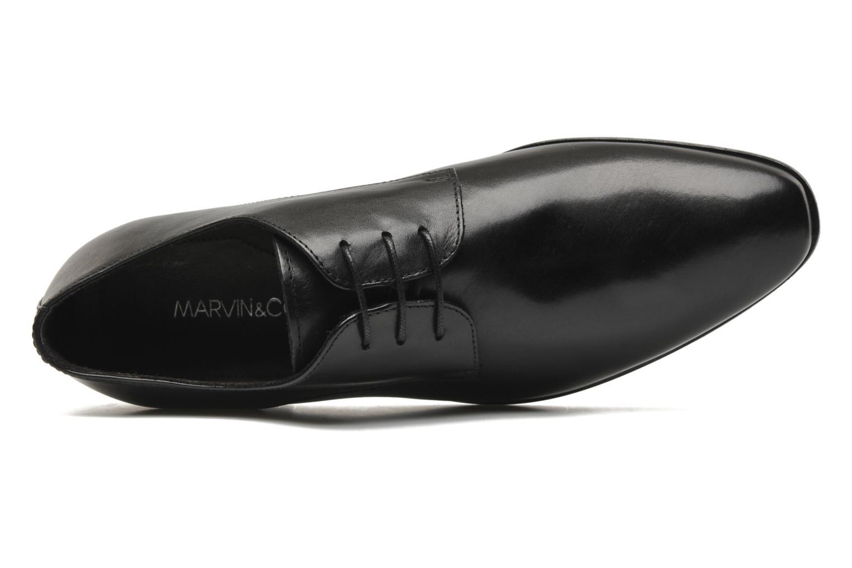 Zapatos con cordones Marvin&Co Nicovée Negro vista lateral izquierda
