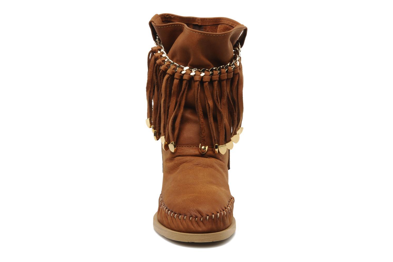Stiefeletten & Boots Karma of Charme Dakota braun schuhe getragen