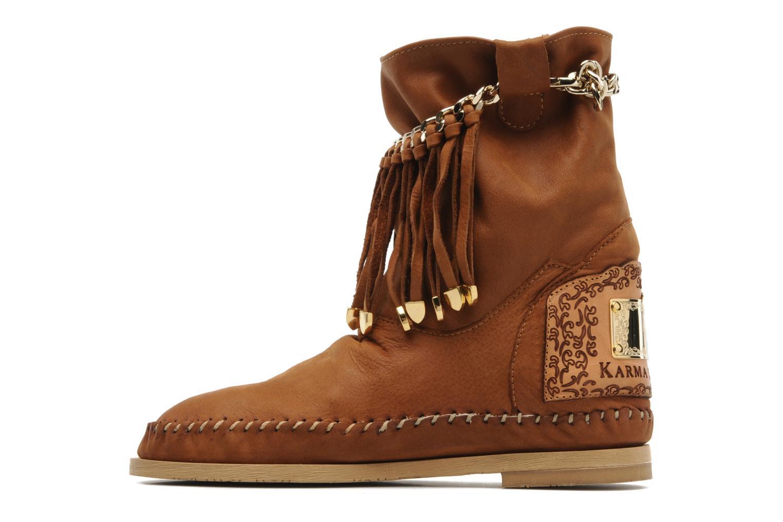 Bottines et boots Karma of Charme Dakota Marron vue face