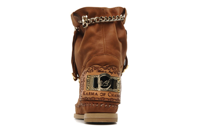 Bottines et boots Karma of Charme Dakota Marron vue droite