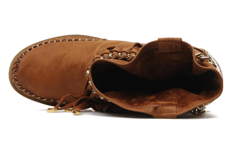 Bottines et boots Karma of Charme Dakota Marron vue gauche