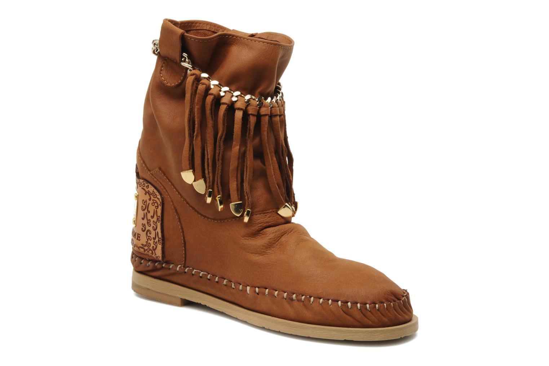 Bottines et boots Karma of Charme Dakota Marron vue détail/paire