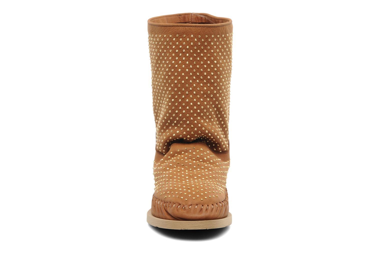 Boots en enkellaarsjes Karma of Charme Diamonds Gold Bruin model