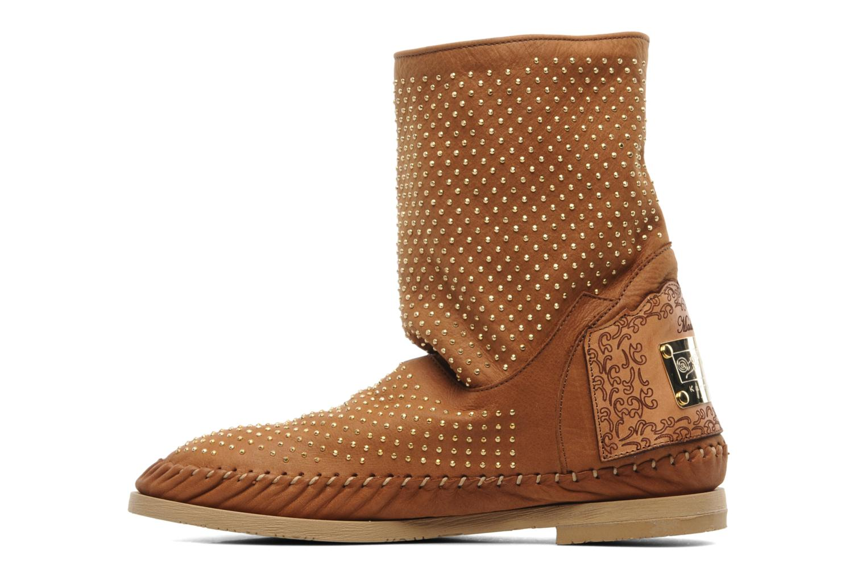 Boots en enkellaarsjes Karma of Charme Diamonds Gold Bruin voorkant