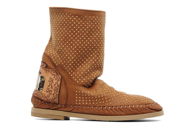 Boots en enkellaarsjes Karma of Charme Diamonds Gold Bruin achterkant