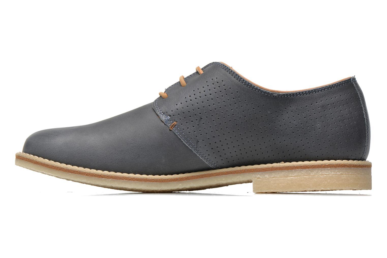Zapatos con cordones Panama Jack Goodman Azul vista de frente