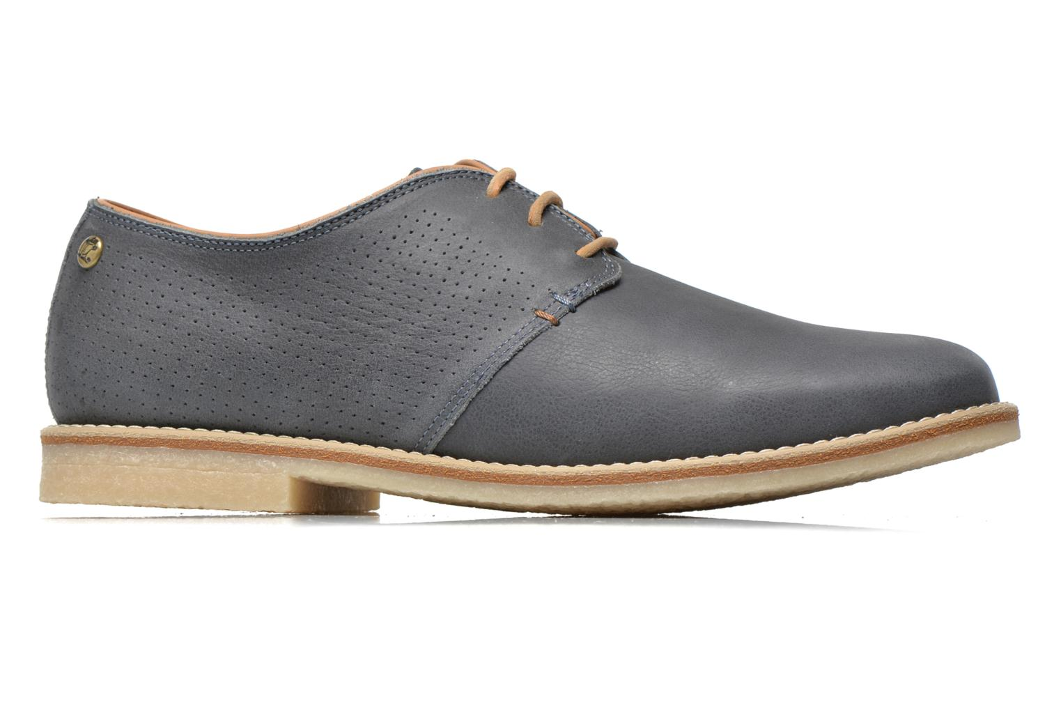Lace-up shoes Panama Jack Goodman Blue back view