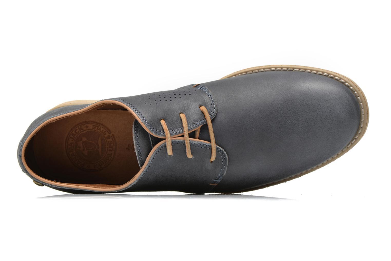 Zapatos con cordones Panama Jack Goodman Azul vista lateral izquierda