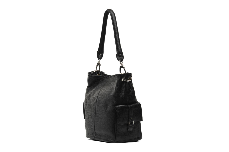 Handbags Mac Douglas VESUVIO Megalo S Black view from the right