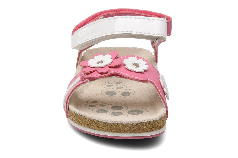 Sandales et nu-pieds Chicco HARMONY Rose vue portées chaussures