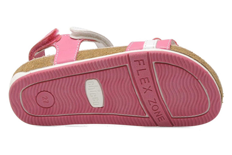 Sandales et nu-pieds Chicco HARMONY Rose vue haut