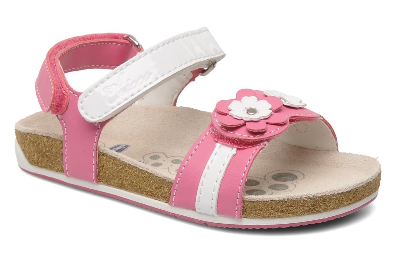 Sandales et nu-pieds Chicco HARMONY Rose vue détail/paire