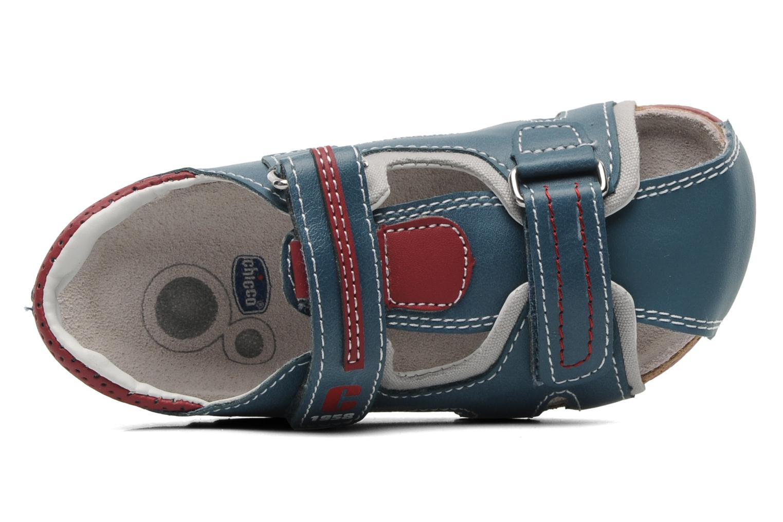 Sandalen Chicco HIKE blau ansicht von links