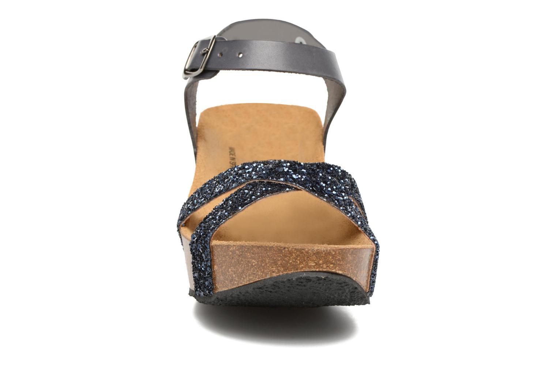 Sandalen Plakton So fine blau schuhe getragen