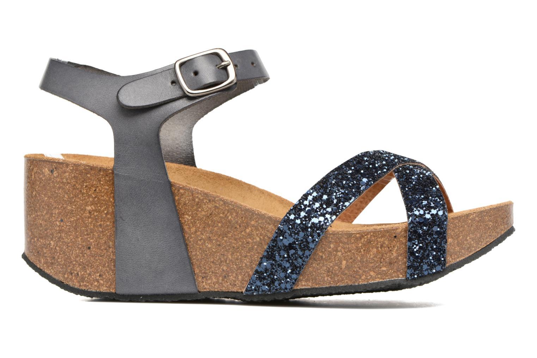 Sandales et nu-pieds Plakton So fine Bleu vue derrière