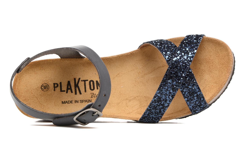 Sandalen Plakton So fine blau ansicht von links