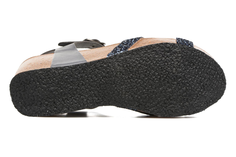 Sandaler Plakton So fine Blå bild från ovan
