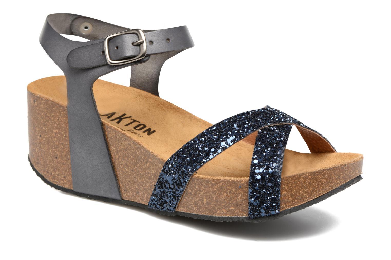 Sandaler Plakton So fine Blå detaljerad bild på paret