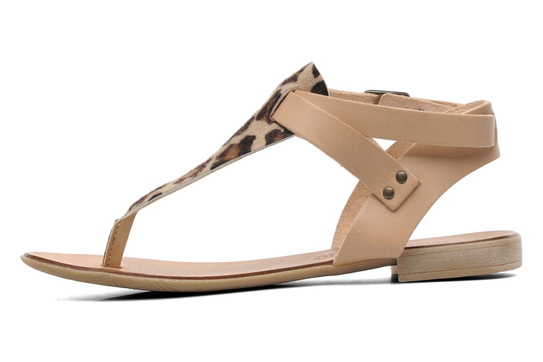 Sandales et nu-pieds Marco Tozzi Gavril Beige vue face
