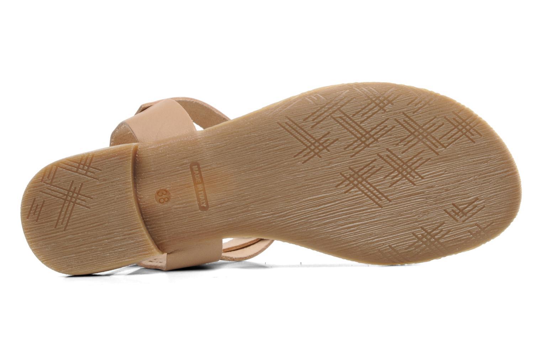 Sandales et nu-pieds Marco Tozzi Gavril Beige vue haut