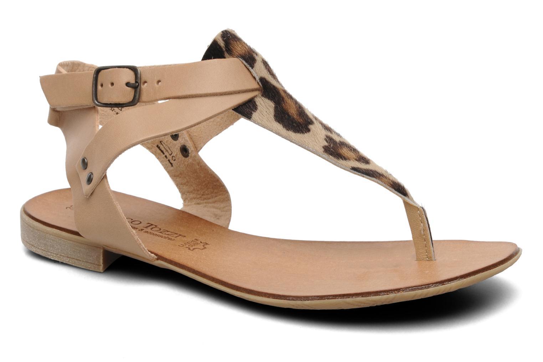Sandales et nu-pieds Marco Tozzi Gavril Beige vue détail/paire