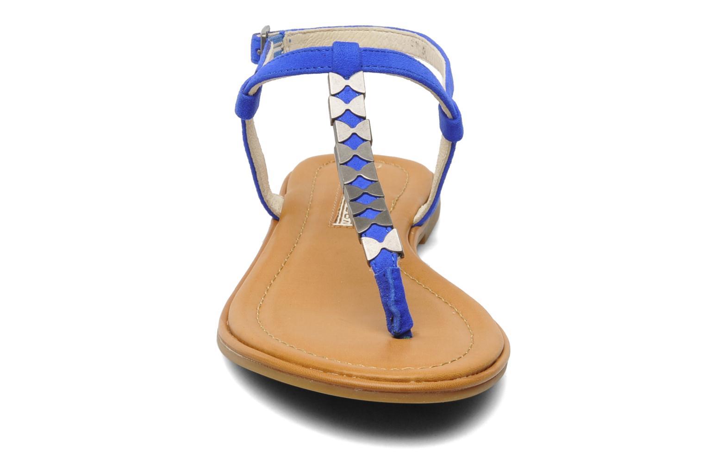 Sandalen Buffalo Bawa blau schuhe getragen