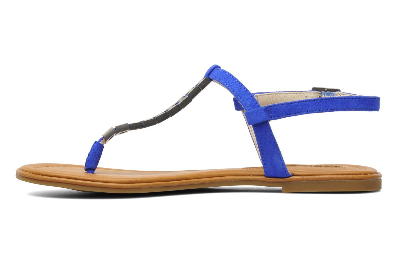 Sandalen Buffalo Bawa blau ansicht von vorne