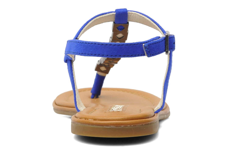 Sandalen Buffalo Bawa blau ansicht von rechts