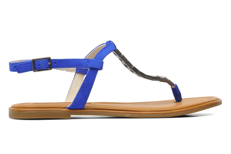 Sandalen Buffalo Bawa blau ansicht von hinten