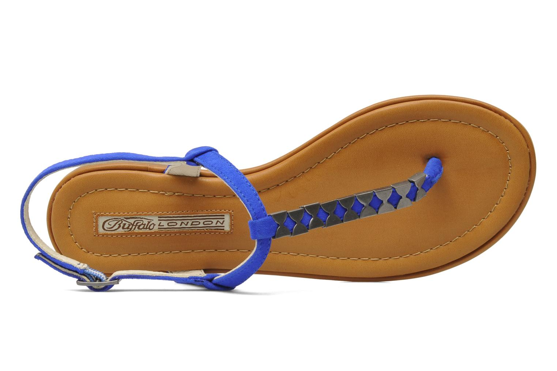Sandalen Buffalo Bawa blau ansicht von links