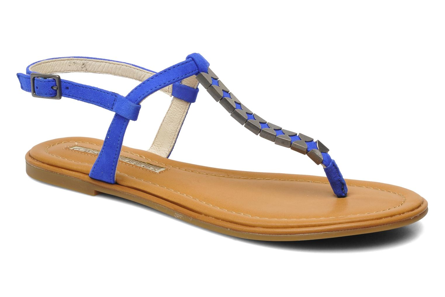 Bawa Kid Suede Blue