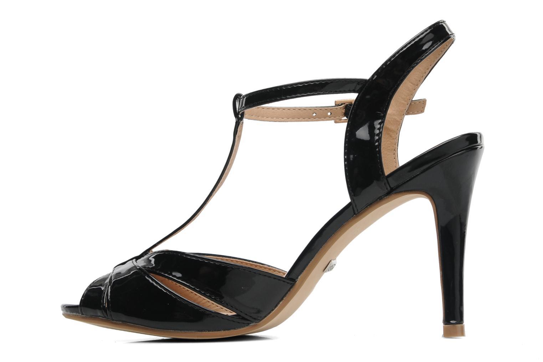 Sandales et nu-pieds Buffalo Booste Noir vue face