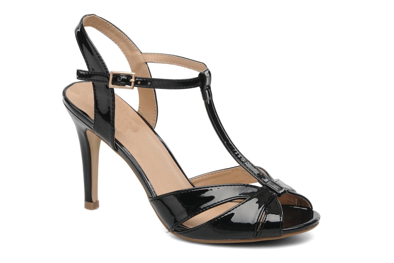 Sandales et nu-pieds Buffalo Booste Noir vue détail/paire