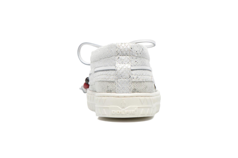 Chaussures à lacets Dolfie Dylan W Blanc vue droite