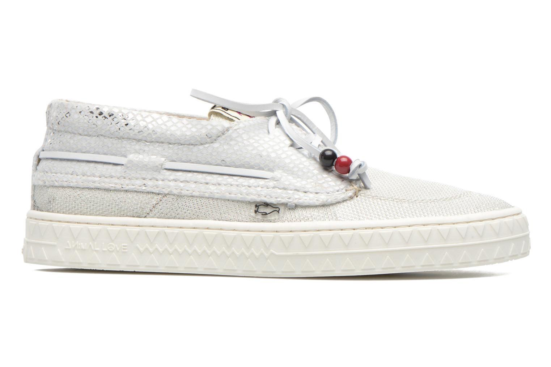 Chaussures à lacets Dolfie Dylan W Blanc vue derrière