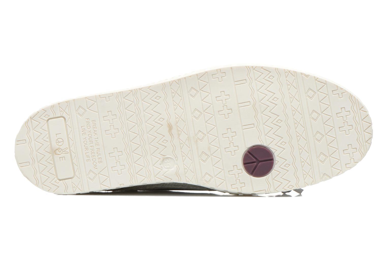 Chaussures à lacets Dolfie Dylan W Blanc vue haut