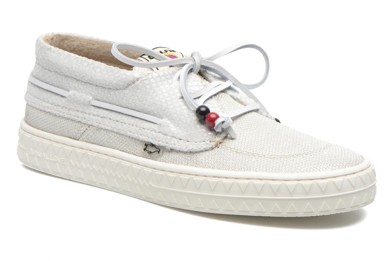 Chaussures à lacets Dolfie Dylan W Blanc vue détail/paire