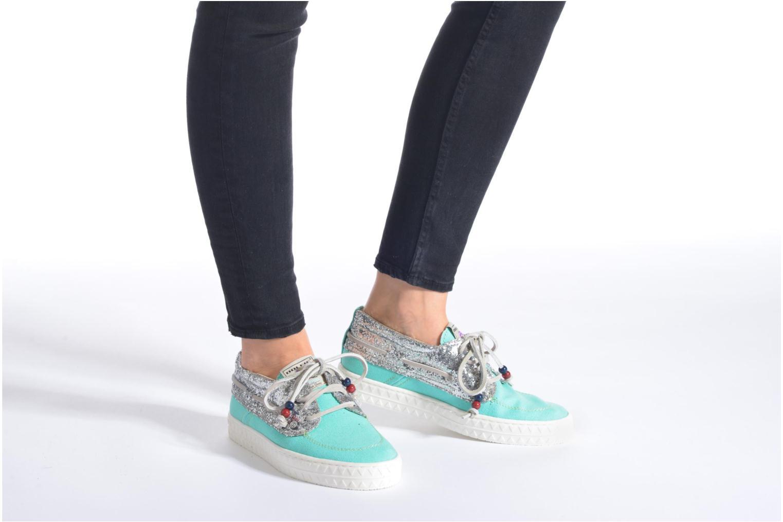 Chaussures à lacets Dolfie Dylan W Bleu vue bas / vue portée sac