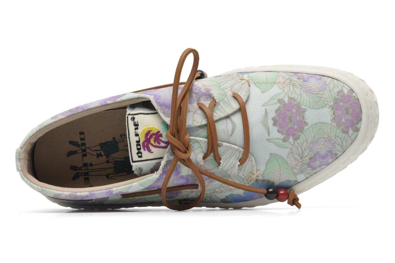 Chaussures à lacets Dolfie Dylan W Bleu vue gauche