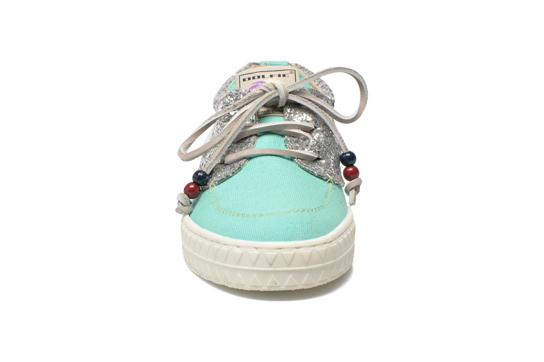 Zapatos con cordones Dolfie Dylan W Verde vista del modelo