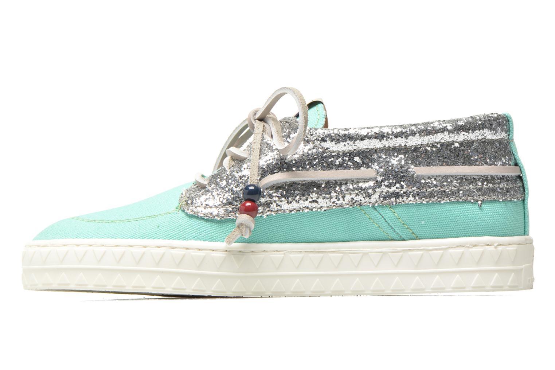 Zapatos con cordones Dolfie Dylan W Verde vista de frente