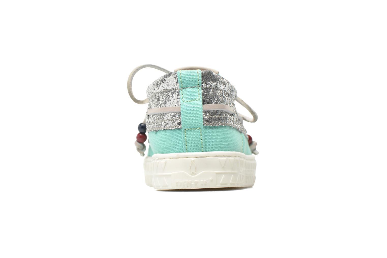 Zapatos con cordones Dolfie Dylan W Verde vista lateral derecha