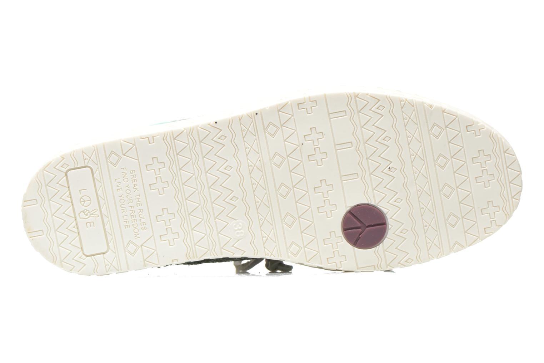 Scarpe con lacci Dolfie Dylan W Verde immagine dall'alto