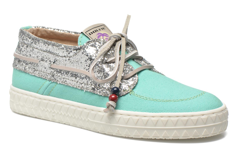 Zapatos con cordones Dolfie Dylan W Verde vista de detalle / par