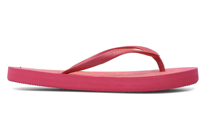 Slippers Trespass Flo Roze achterkant